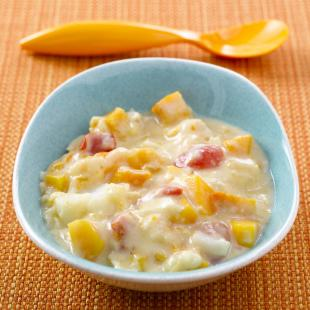 Creamy fish stew
