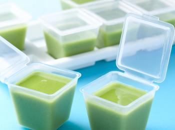 Pea and Milk Purée